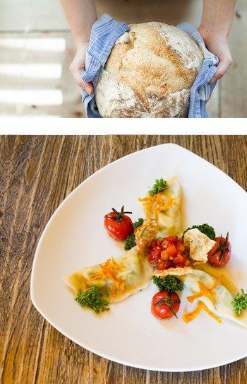 Biohotel Garmischer Hof biologisch Essen Brot Nudeln