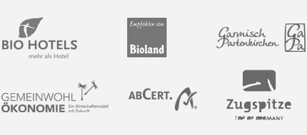 Biohotel Garmischerhof Auszeichnungen
