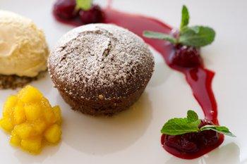 Bio hotel Garmischer Hof Dessert
